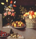 van der hamen still life with flowers and fruit