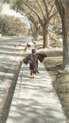 kb Hanks Steve As the Crow Flies