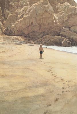 kb Hanks Steve Footprints in the Sand