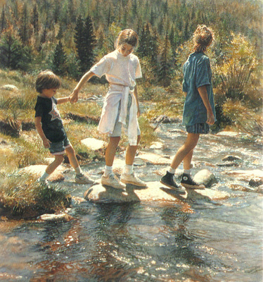 kb Hanks Steve Stepping Stones