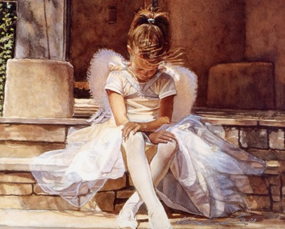 Steve Hanks Angel in Thought, De
