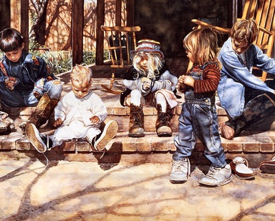 Steve Hanks Big Shoes to Fill, De