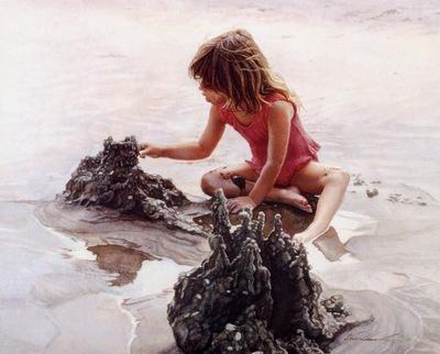 Steve Hanks Castles in the Sand, De
