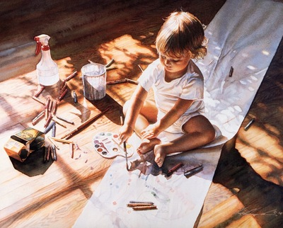 Steve Hanks Young at Art, De