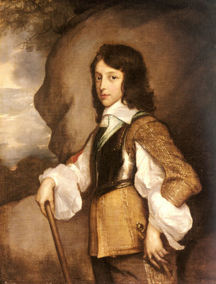 Hanneman Adriaen Portrait Of Henry Stuart Duke Of Gloucester