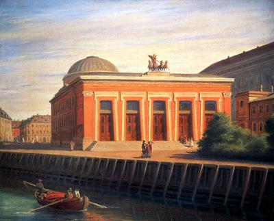 Hansen Constatin Thorvaldsens Museum Sun