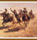 HansenHermanW CowboyRace We