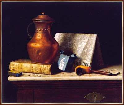 Harnett Still Life with Copper Jug sj