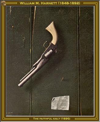 william m harnett the faithfull colt 1890 po amp