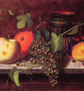 Still life with Fruit and vase