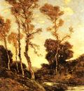 Harpignies Henri%20Joseph Autumnal River Landscape