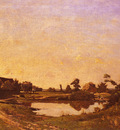 Harpignies Henri Joseph Midday In The Meadows