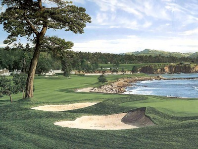 hallowed ground csg007 pebble beach 18thgreen