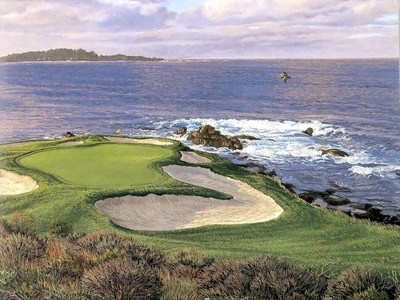 hallowed ground csg022 pebble beach 7th hole