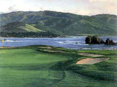 hallowed ground csg024 pebble beach 17th hole