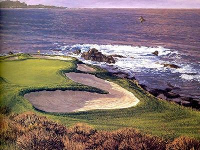 fairways csg001 pebble beach 7th hole linda hartough