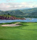fairways csg003 pebble beach 17th hole linda hartough