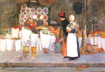 hassam at the florist