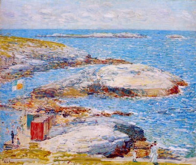 hassam bathing pool, appledore