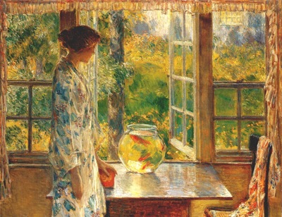 hassam bowl of goldfish