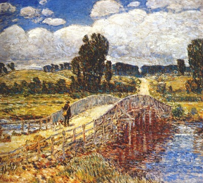 hassam bridge at old lyme