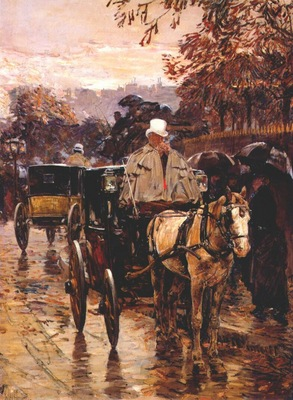hassam carriage, rue bonaparte