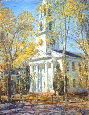 hassam church at old lyme