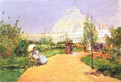 hassam horticultural building, worlds columbian exposition, chicago