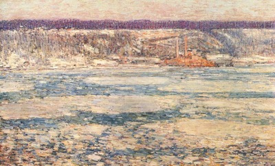 hassam ice on the hudson
