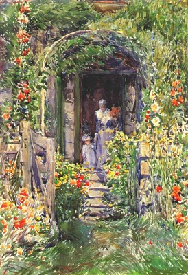 hassam isles of shoals garden