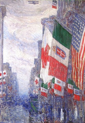hassam italian day, may