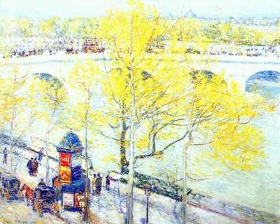 hassam pont royal, paris