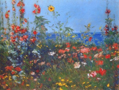 hassam poppies, isles of shoals