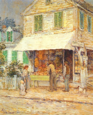 hassam provincetown grocery store
