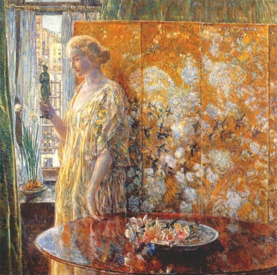 hassam tanagra the builders, new york