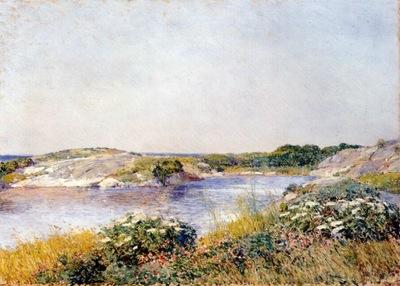 hassam the little pond, appledore