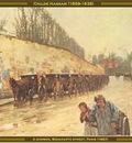 childe hassam a shower bonaparte street 1887 po amp