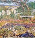 hassam a long island garden