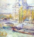 hassam le louvre et le pont royal