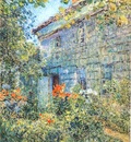 hassam old house and garden, east hampton