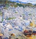 hassam rocky beach, appledore
