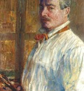 hassam self portrait