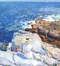 hassam south ledges, appledore