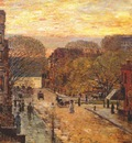 hassam spring on west 78th street