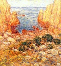 hassam the gorge, appledore, isles of shoals