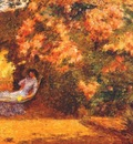 hassam under the lilacs c1887