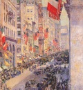 hassam up the avenue from 34th street, may
