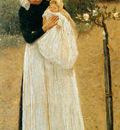 Haverman Hendrik Old maid and child Sun