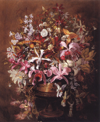 bs William Jacob Hays Bouquet Of Orchids