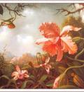 bs flo Martin Johnson Heade Two Hummingbirds And Two Varieties Of Orchids